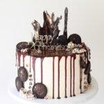 Custom Birthday Drip Cake