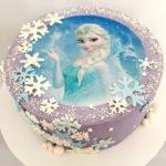 Custom Disney's Frozen Birthday Cake